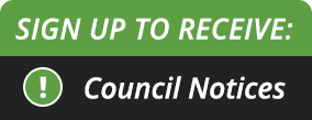 Receive Council Notices