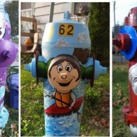 Painted Fire-Hydrant Tour